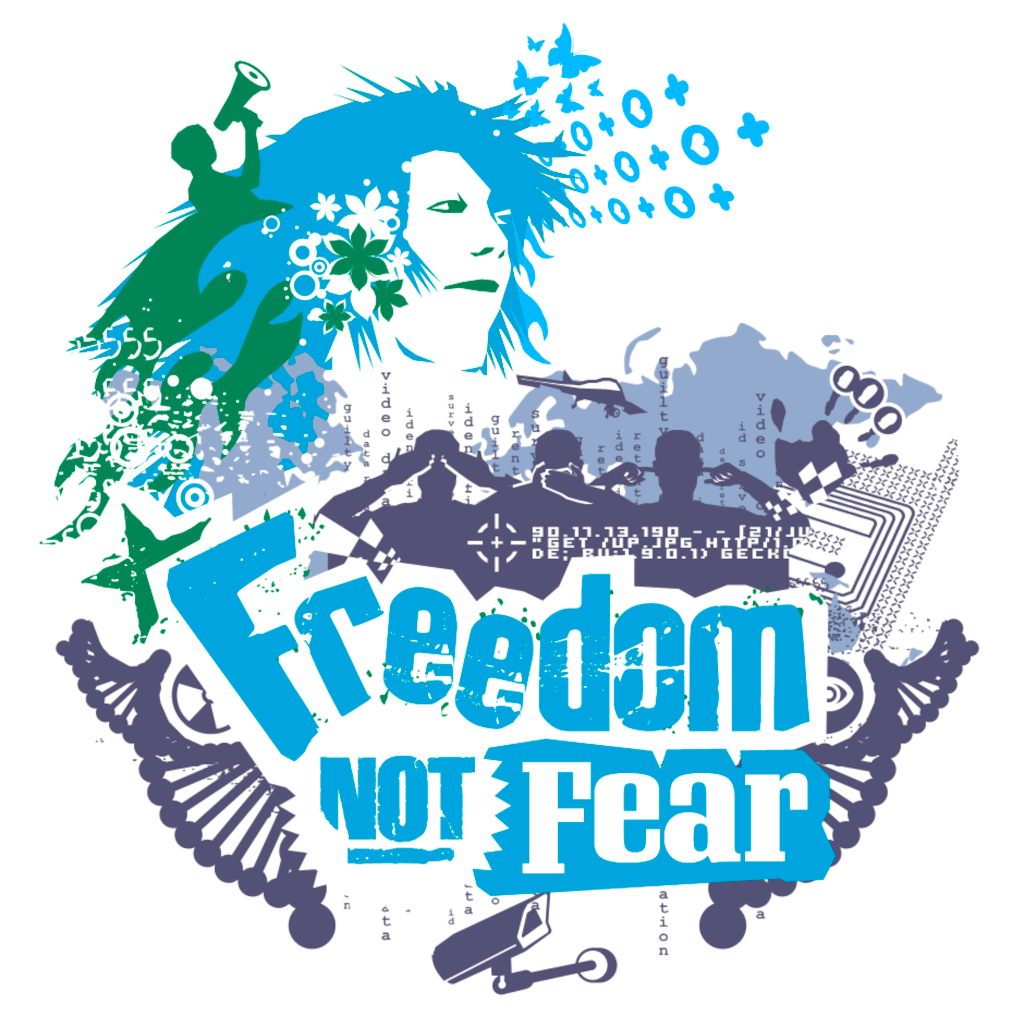 """Freedom not fear"""